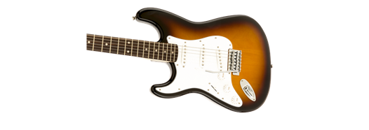 Squier Affinity Strat Left Handed Brown Sunburst PF
