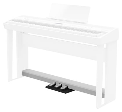 Roland KPD-90-WH Pedal Unit for FP-90X and FP-60X Pianos - White