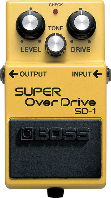 Boss SD-1 Super Overdrive Pedal - Fair Deal Music UK