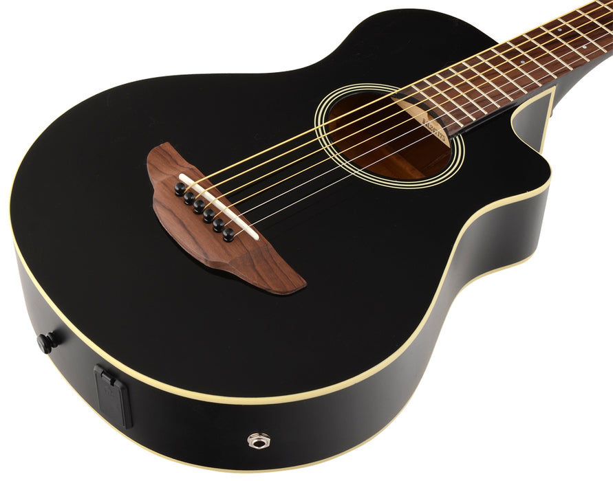 Yamaha APXT2 Electro-Acoustic Travel Guitar in Black