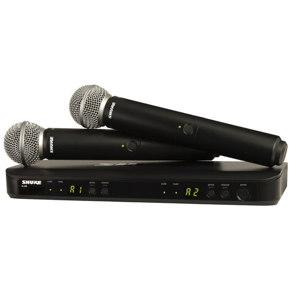 Shure BLX288UK / SM58 Dual Wireless System