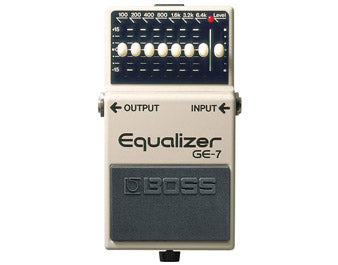 Boss GE-7 Graphic Equalizer Pedal - Fair Deal Music UK
