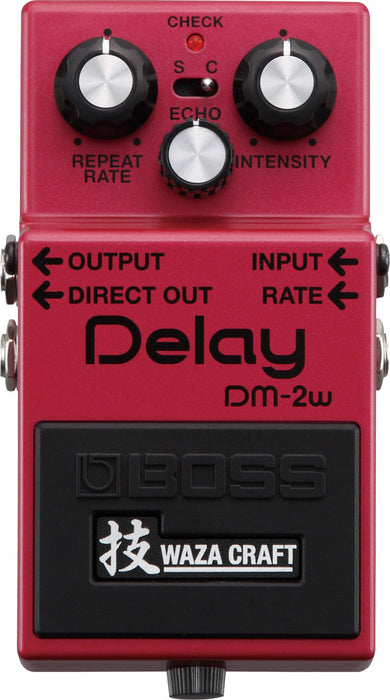 Boss DM-2W Delay Pedal Waza Craft Special Edition
