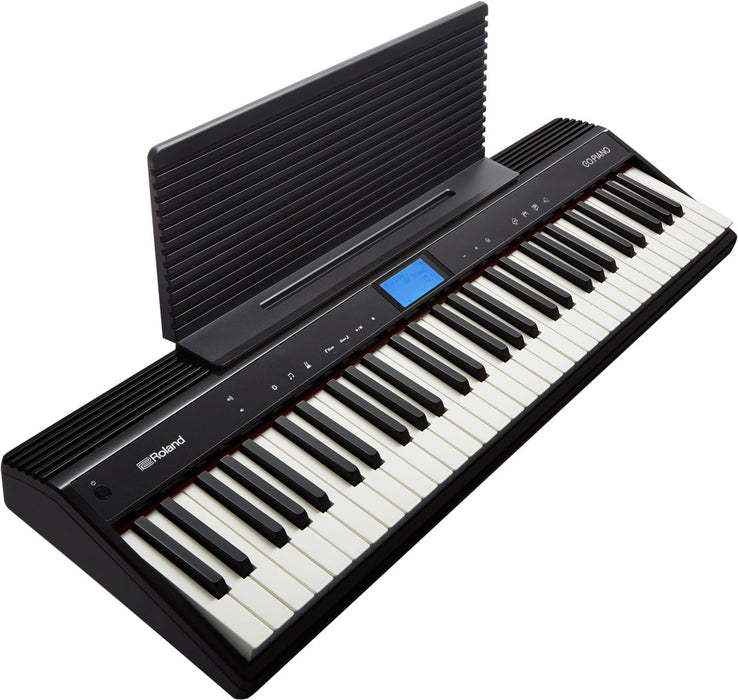 Roland GO:PIANO GO-61P - Music Rest included