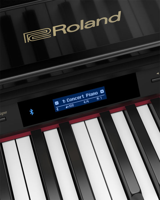 Roland GP607PE Digital Grand Piano - Polished Ebony