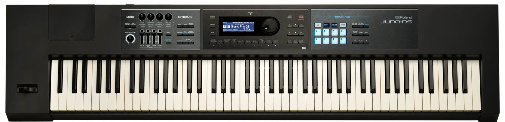Roland JUNO-DS88 Synthesizer Keyboard Workstation (88-key)