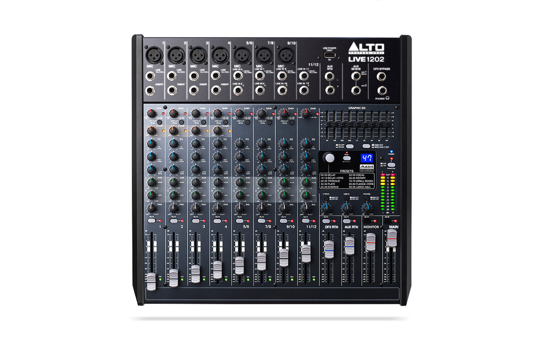 Alto Live 1202 12-Channel Mixer