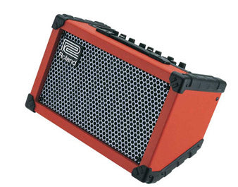 Roland Street CUBE Battery Powered Stereo Amplifier - Red - Fair Deal Music UK
