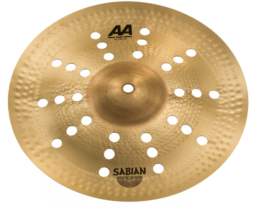 "Sabian 12"" AA Mini Holy China Cymbal"