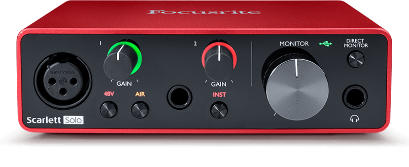 Focusrite Scarlett Solo 3rd Gen USB Audio Interface, Ex Display