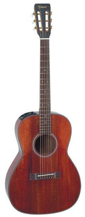 Takamine EF407 Legacy Series OM Orchestra Model Electo Acoustic Guitar