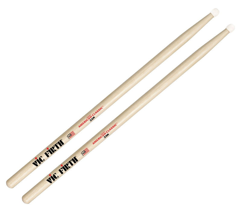 Vic Firth American Classic 3A Nylon Tip Drumsticks