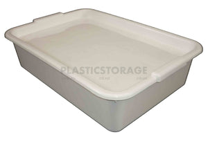12L Storage Box White