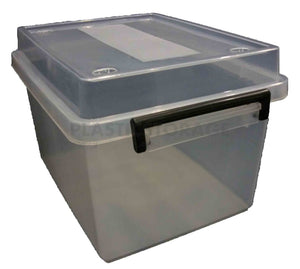 18L Storage Box Clear