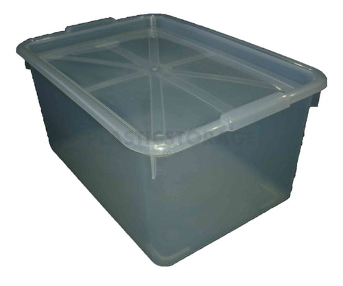 20L Storage Box Clear