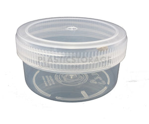 250Ml Screw Top Jar Clear