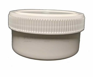 250Ml Screw Top Jar White