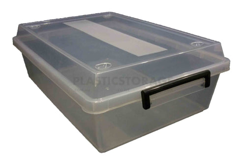 25L Storage Box Clear