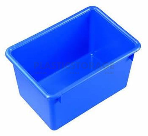 27L Storage Box Base Blue