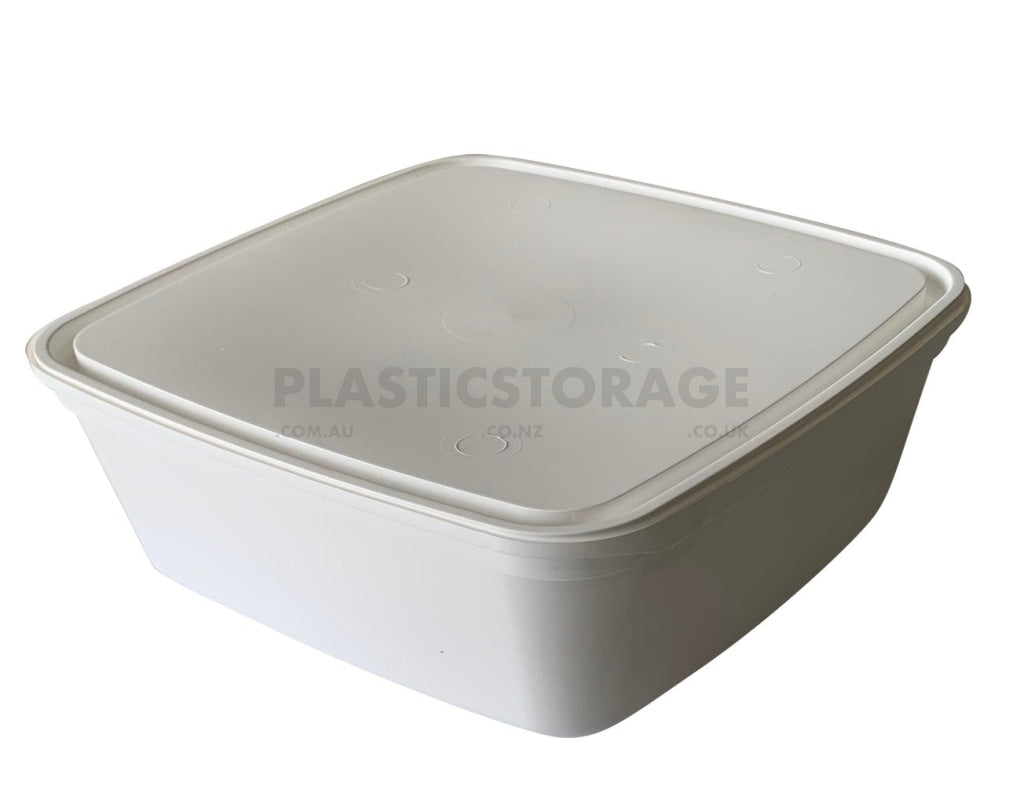 2L Ice Cream Container Base & Lid