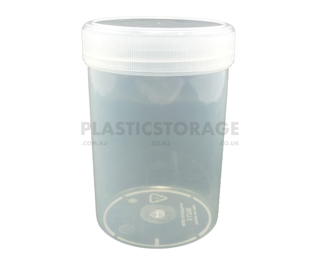 2L Screw Top Jar Clear