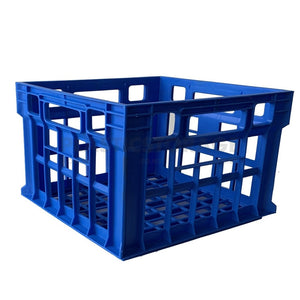 31L Milk Crate Blue