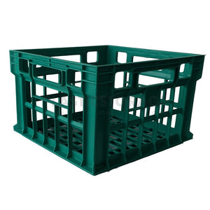 31L Milk Crate Green