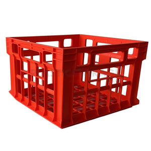 31L Milk Crate Red
