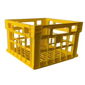 31L Milk Crate Yellow