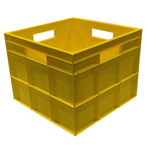 31L Square Hobby Box Yellow