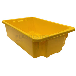32L Stack And Nest Crate Base Yellow