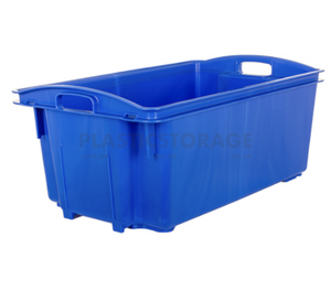 35L Stack And Nest Crate Base Blue