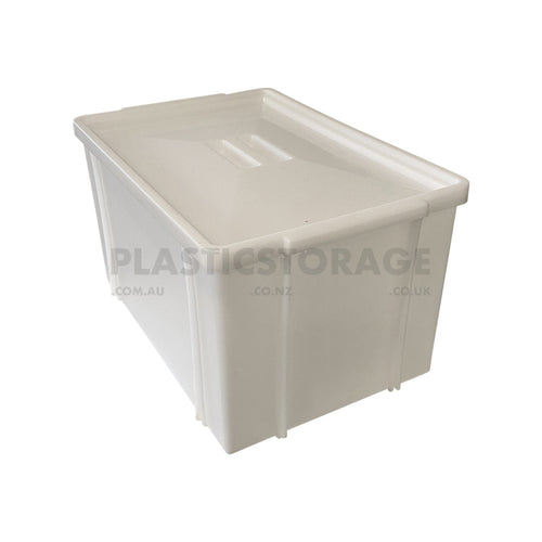 42L Stackable Tote Box Base & Lid