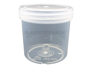 500Ml Screw Top Jar Clear