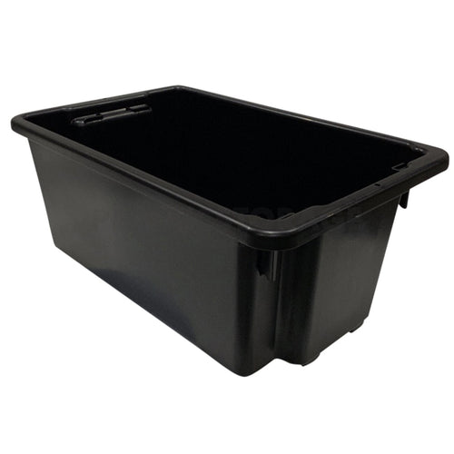 52L Stack And Nest Crate Base Black