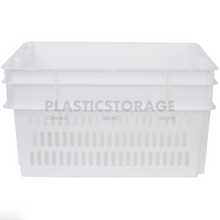 Load image into Gallery viewer, 52L Stackable And Nesting Vented Crate Base Natural