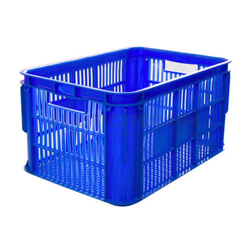65L Lug Box Blue