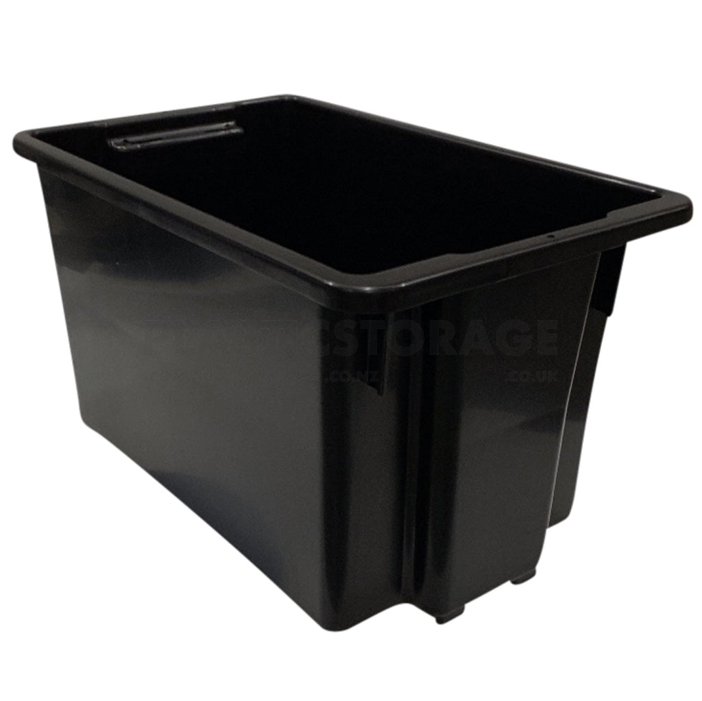 68L Stack And Nest Crate Base Black