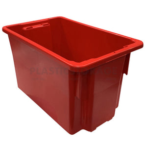 68L Stack And Nest Crate Base Red