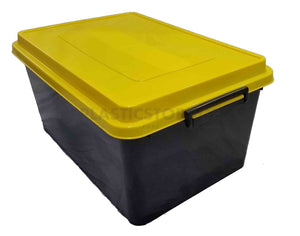 71L Storage Box Black & Yellow
