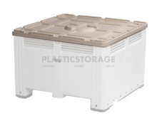 Load image into Gallery viewer, 780L Pallet Mega Bin Solid Base & Lid