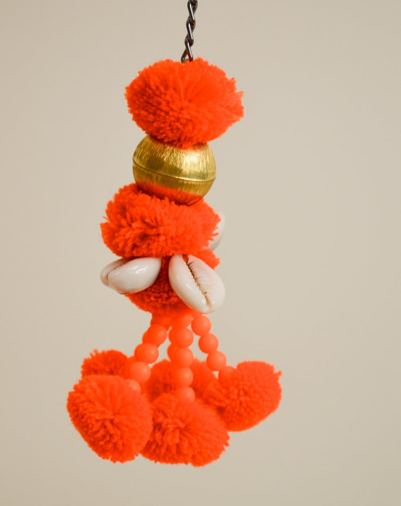 Orange pompom *limited edition*