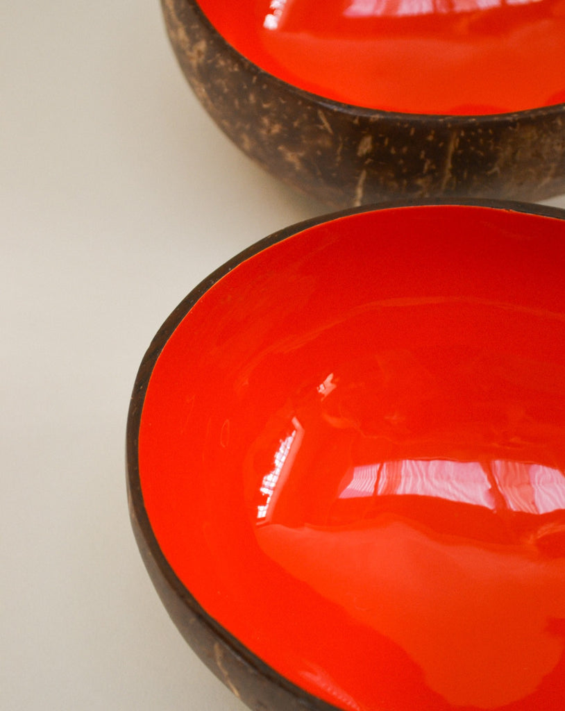 'Sunset' coconut bowl