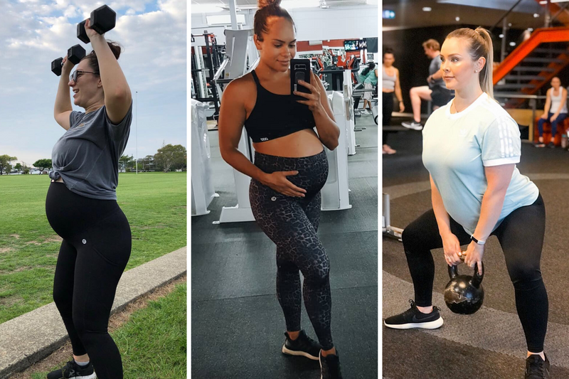 Should I be lifting weights during pregnancy?