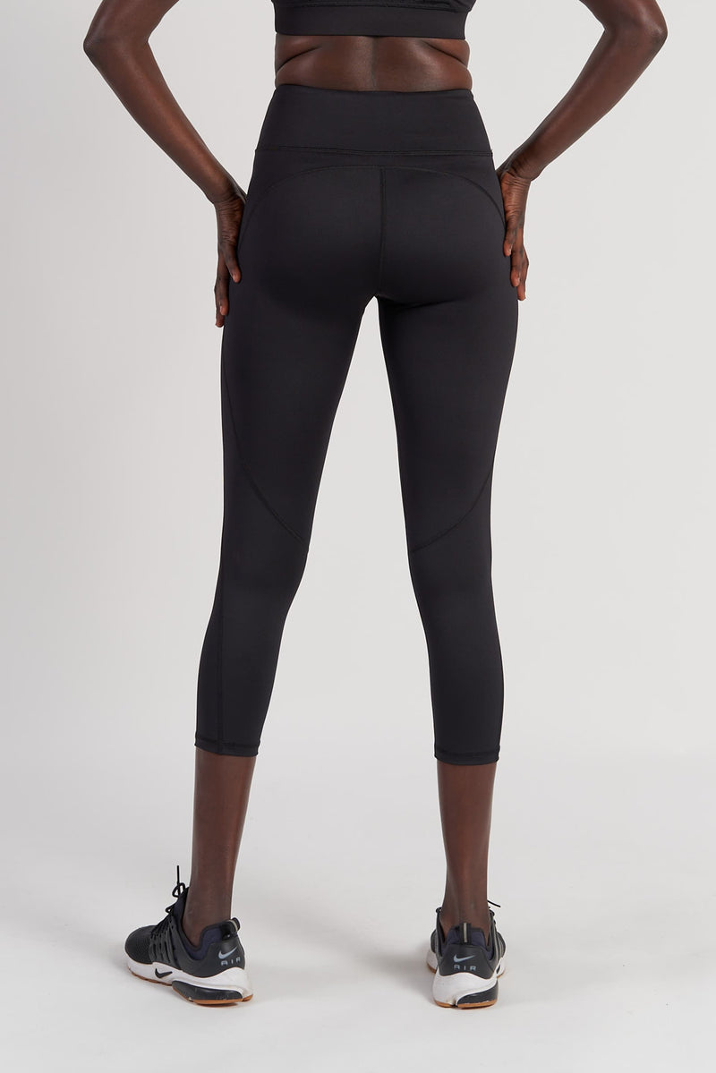 Power 7/8 Length Tight - Black from Active Truth USA