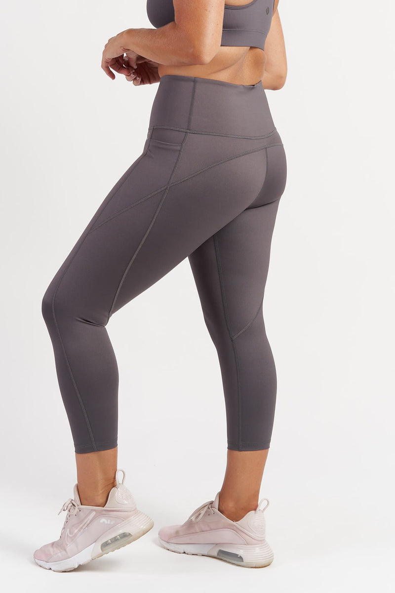 Training Pocket 7/8 Length Tight - Grey from Active Truth USA