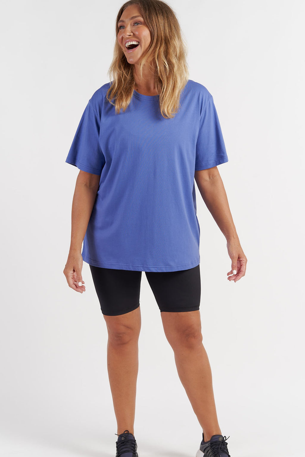 Oversized T-Shirt - Bright Blue from Active Truth USA