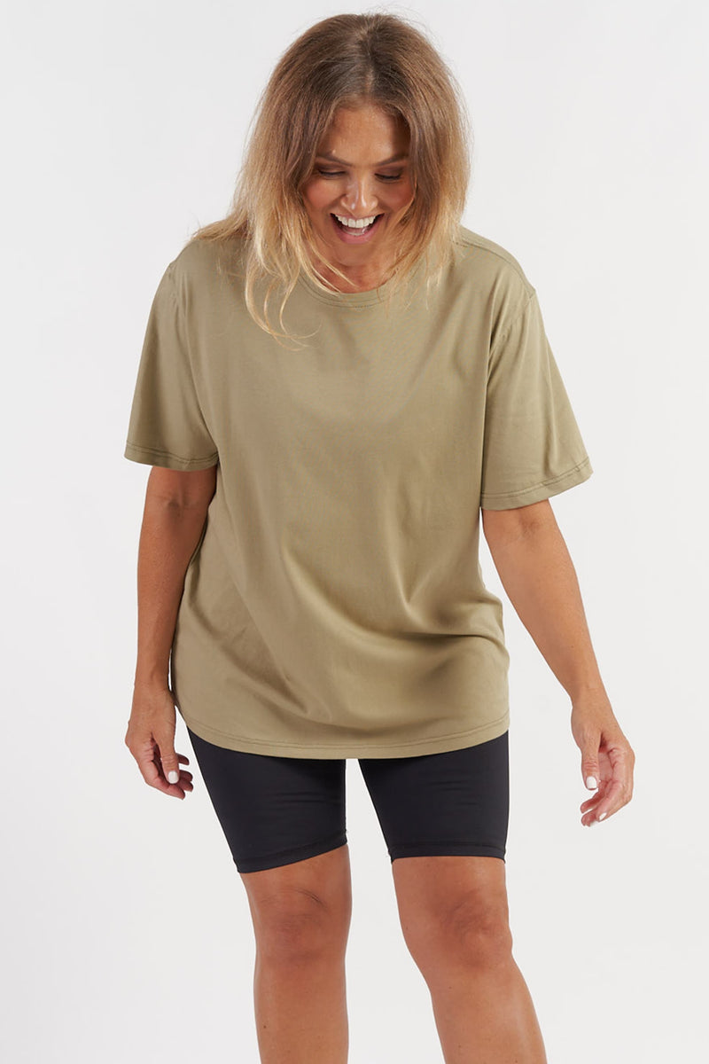 Oversized T-Shirt - Olive from Active Truth USA