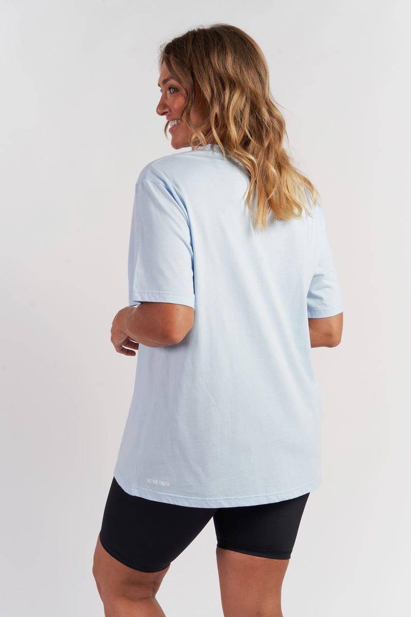 Oversized T-Shirt - Light Blue from Active Truth USA