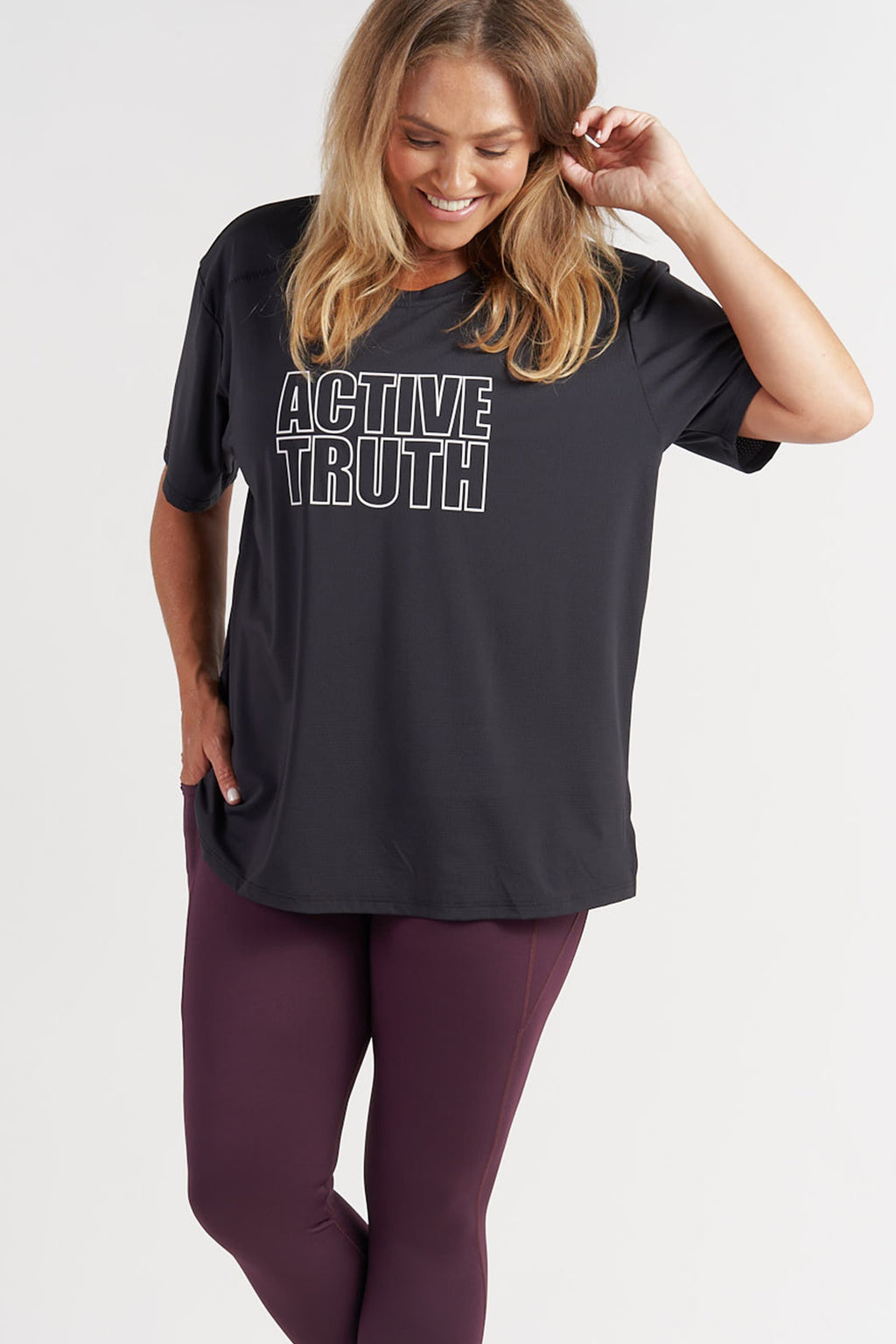 Performance T-Shirt - Black Logo from Active Truth USA